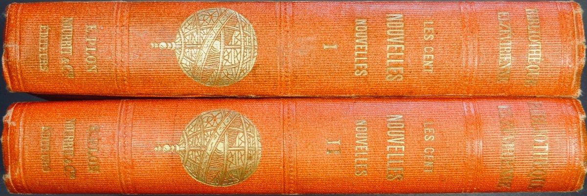 Anonyme - Les Cent Nouvelles Nouvelles. Jannet, 1858.-photo-2