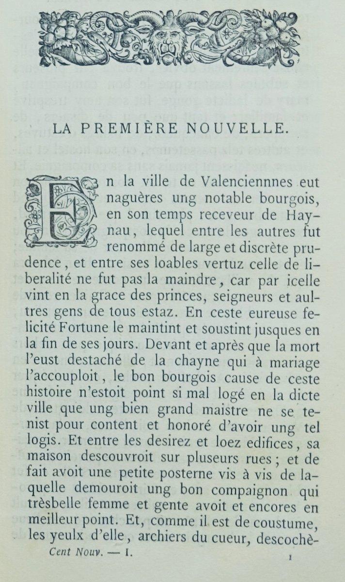 Anonyme - Les Cent Nouvelles Nouvelles. Jannet, 1858.-photo-4