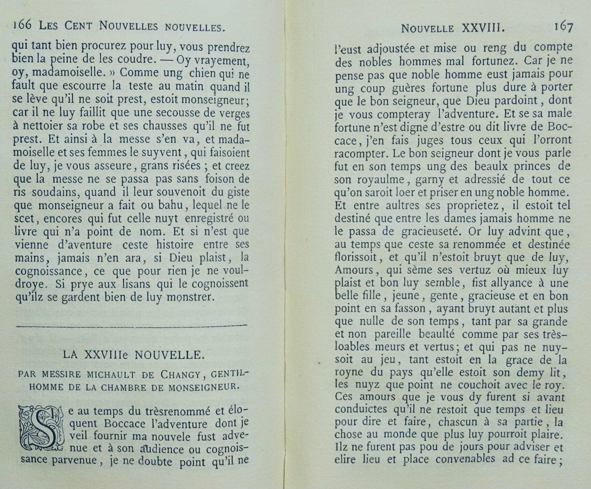 Anonyme - Les Cent Nouvelles Nouvelles. Jannet, 1858.-photo-6