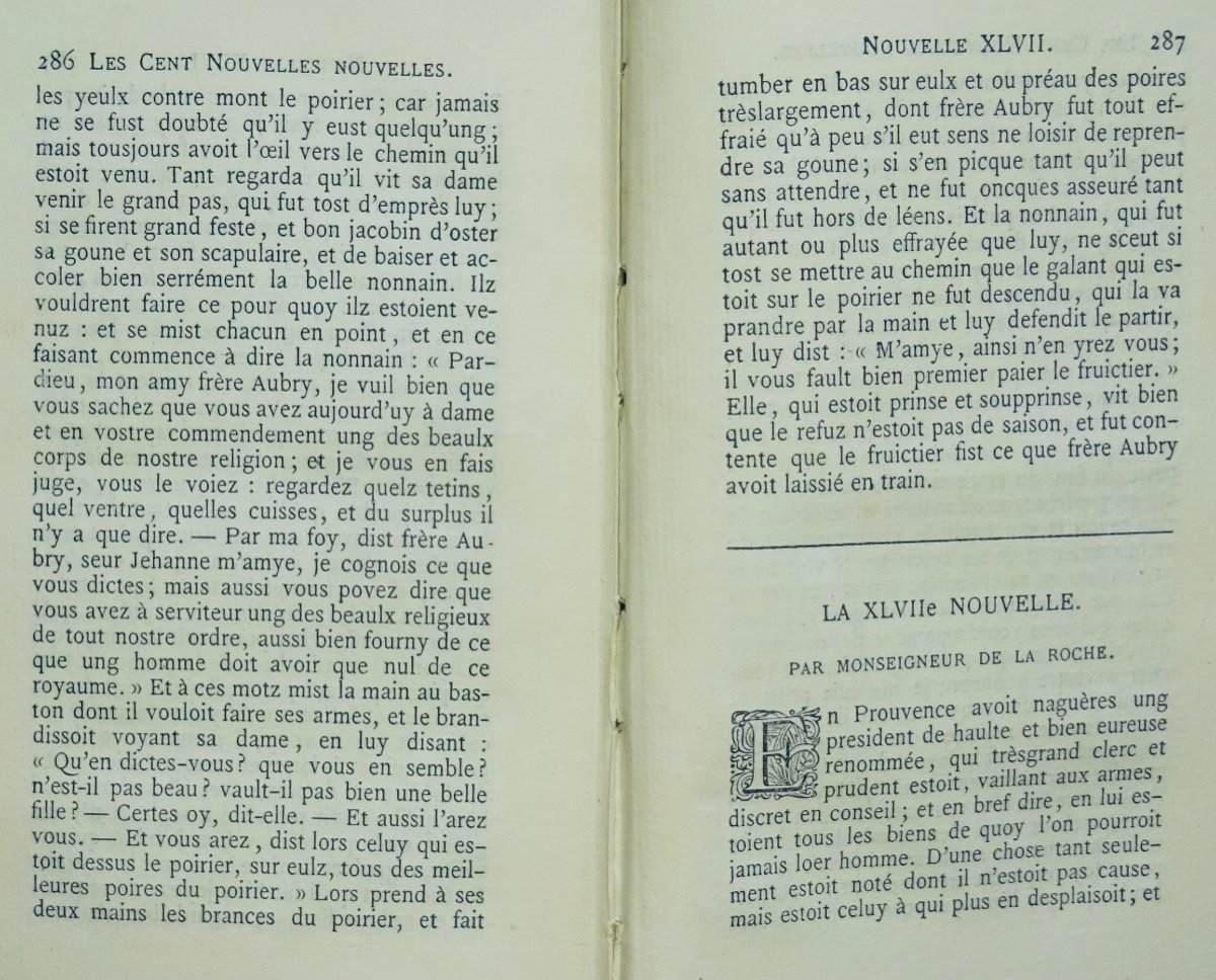 Anonyme - Les Cent Nouvelles Nouvelles. Jannet, 1858.-photo-8