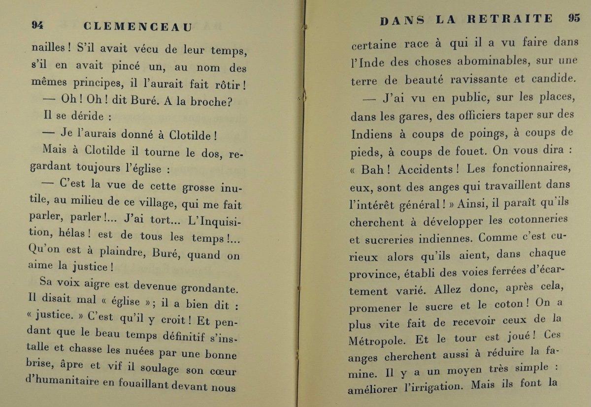 BENJAMIN - Clémenceau dans la retraite. La Palatine, 1930. Édition originale.-photo-6