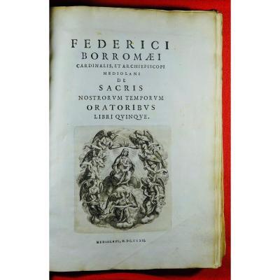 Texte Religieux Imprimé à Milan En 1632.