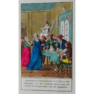 Capelle - Aneries Révolutionnaires. Curieux Ouvrages Humoristique Sur La Révolution De 1802.