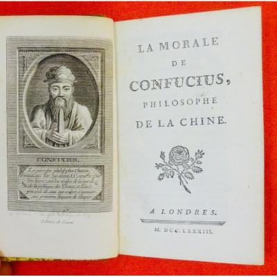 Confucius - Cazin Edition From 1783.