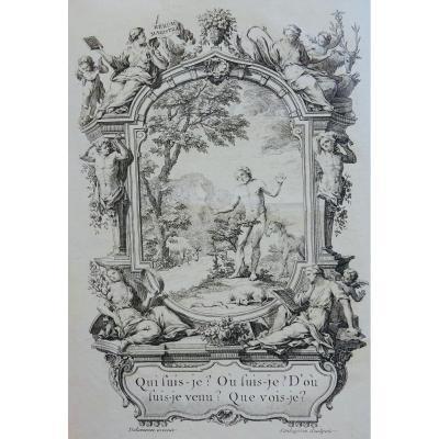 L 'antropologie Metaphysical Treatise By The Marquis De Gorini Corio. 1761.