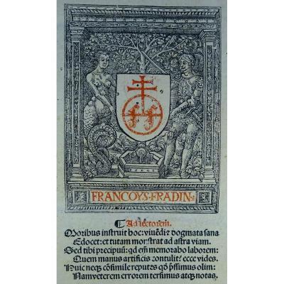 Gratien Le Canoniste - Post Incunable De Théologie Imprimé En 1515 à Lyon.