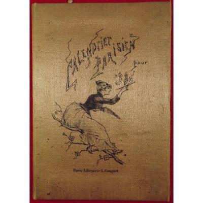 Hervilly - 1886 Calendrier Parisien. Librairie L. Conquet, 1886.