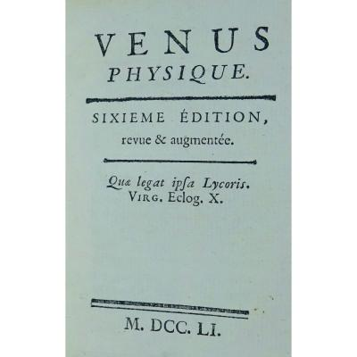 Maupertuis - Physical Venus. 1751. Book On Reproduction, Monsters, Albinos ...