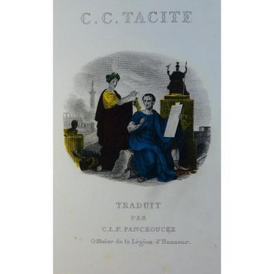 Panckoucke - Etudes Et Dissertations Sur Tacite. 1842. Gravures Coloriées d'époque.