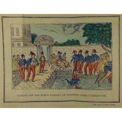 RamÉe (jacques-philippe-isaac De La) - Le Farceur Du Régiment... Vers 1810.