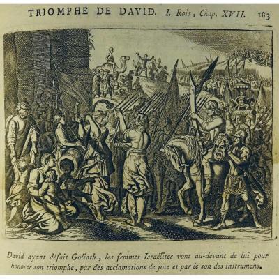 Royaumont (de) - Histoire De l'Ancien Et Du Nouveau Testament. Vers 1700, Nombreuses Gravures.