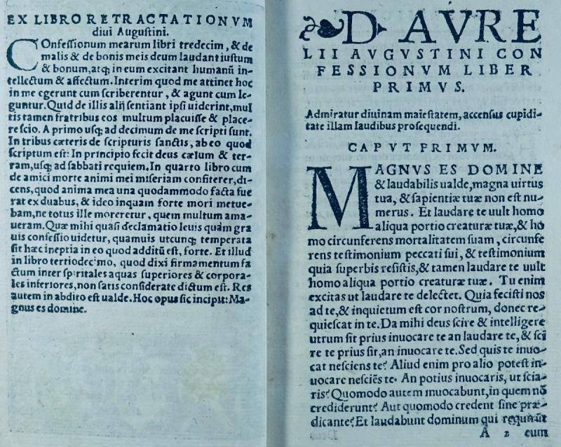 Les Confessions De Saint Augustin, Imprimé à Cologne En 1531, Dans Une Reliure Signée Capé.-photo-2