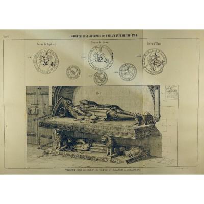 Schoepflin (j.-d.) - l'Alsace Illustrée Ou Recherches Sur l'Alsace. 1849.