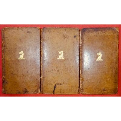 Tott - Memoirs Of Baron De Tott On The Turks And The Tartars. 1785, 3 Volumes.