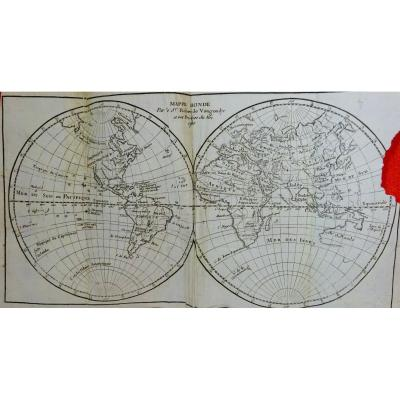 Vaugondy (robert De) Pocket Atlas Very Small In-12 And Printed In 1750.