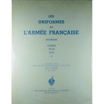 Bucquoy (e.-l.) - Les Uniformes De l'Armée Française. Terre-mer-air. 1935, In-folio.