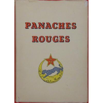 Lassale Panaches Rouges. Histoire Du 3ème Régiment De Spahis Algériens De Reconnaissance. 1947.