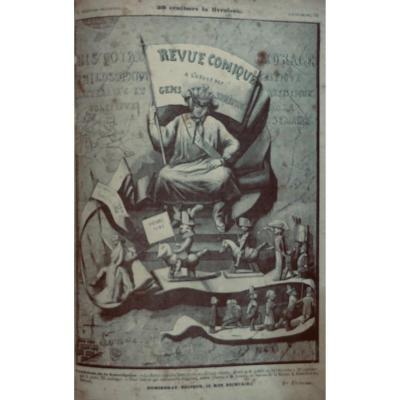 La Revue Comique à l'Usage Des Gens Sérieux. Dumineray, 1848.