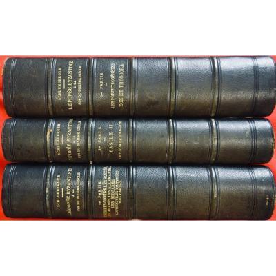 Schlumberger (gustave) - l'Épopée Byzantine à La Fin Du Dixièmesiècle. 1905.