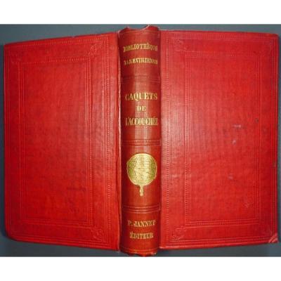 Anonyme - Les Caquets De l'Accouchée. Janet, 1855.