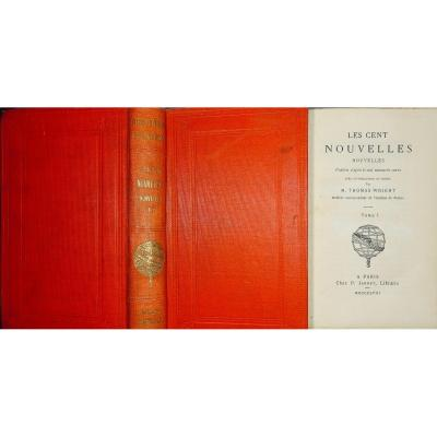 Anonyme - Les Cent Nouvelles Nouvelles. Jannet, 1858.