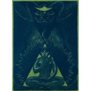 Baudelaire - Les Paradis Artificiels (opium Et Haschisch). 1923, Illustré Par Henry Chapront.