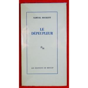 BECKETT - Le Dépeupleur. Éditions de Minuit, 1970. Éditions originale.