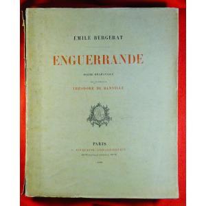 BERGERAT - Enguerrande, poème dramatique. P. Rouquette, 1888, illustré par RODIN