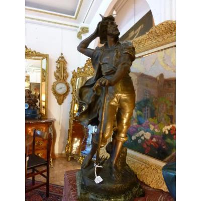 L'Orage Sculpture en Régule par Luca Madrassi