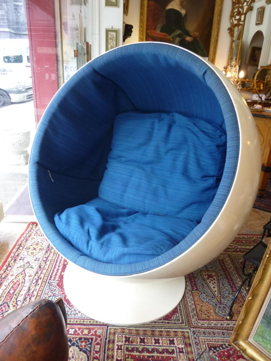 fauteuil mod le ball chair par eero aarnio fauteuils. Black Bedroom Furniture Sets. Home Design Ideas