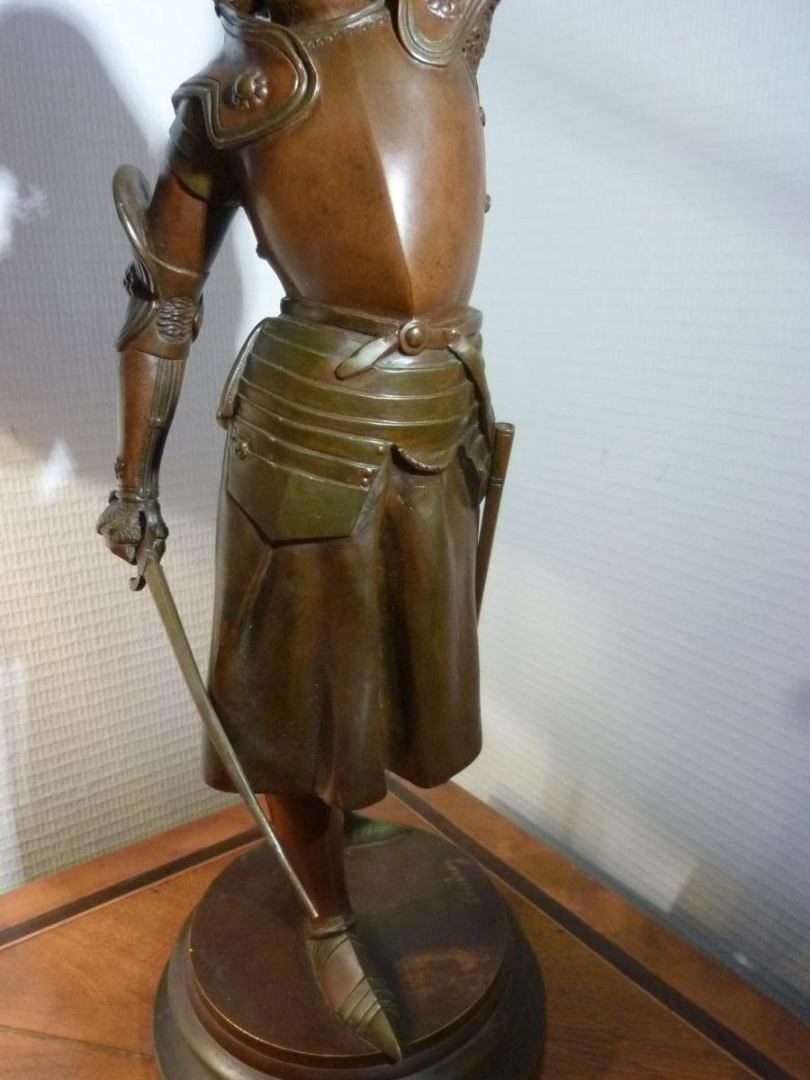 Bronze Jeanne d'Arc