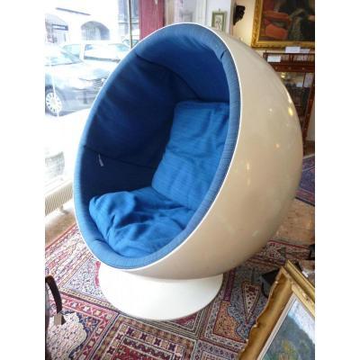 Fauteuil Modèle Ball Chair Par Eero Aarnio