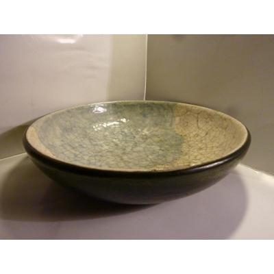 Plat Ceramique Signé Raoul Lachenal