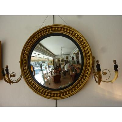 Miroir ancien sur proantic empire consulat for Miroir de sorciere definition