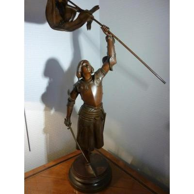 Bronze Joan Of Arc