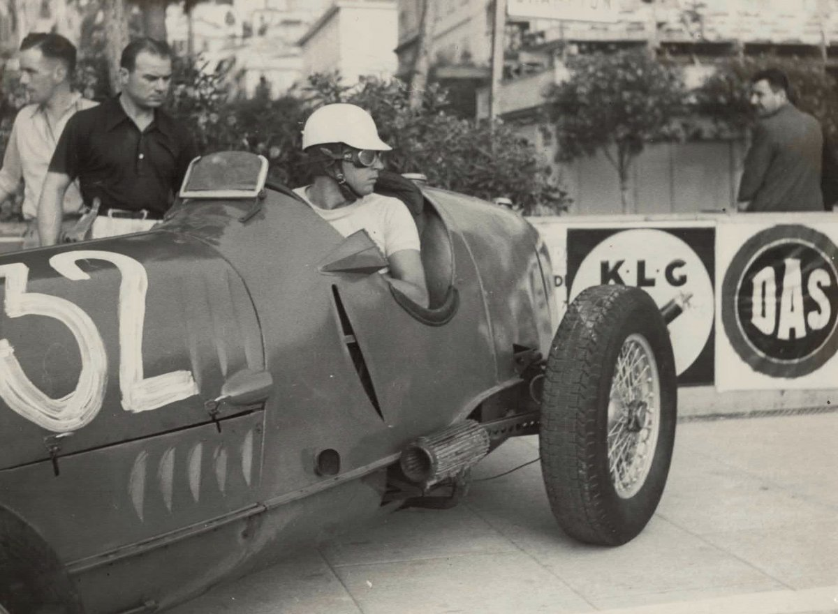 Germaine Krull, 1937 Monaco Grand Prix