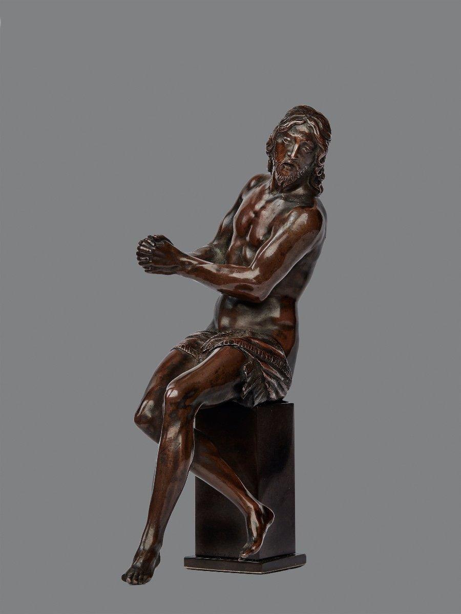 Guglielmo Della Porta (1515-1577) Christ With Ties, Bronze