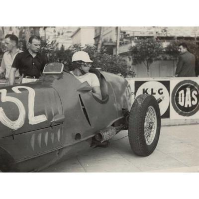 Germaine Krull, Grand Prix De Monaco 1937