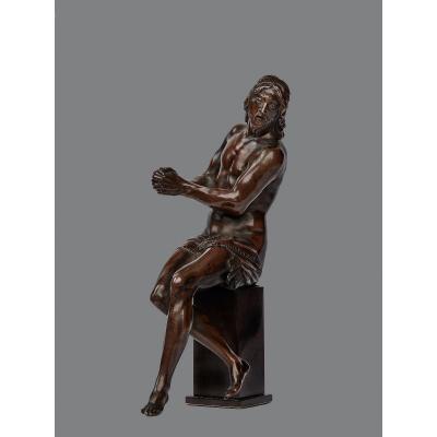 Guglielmo Della Porta (1515-1577) Christ Aux Liens, Bronze