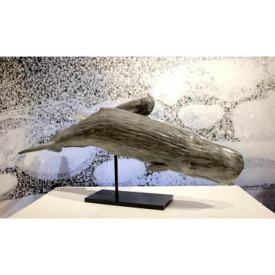 "Bronze Original De Damien Colcombet "" Les Cachalots"""