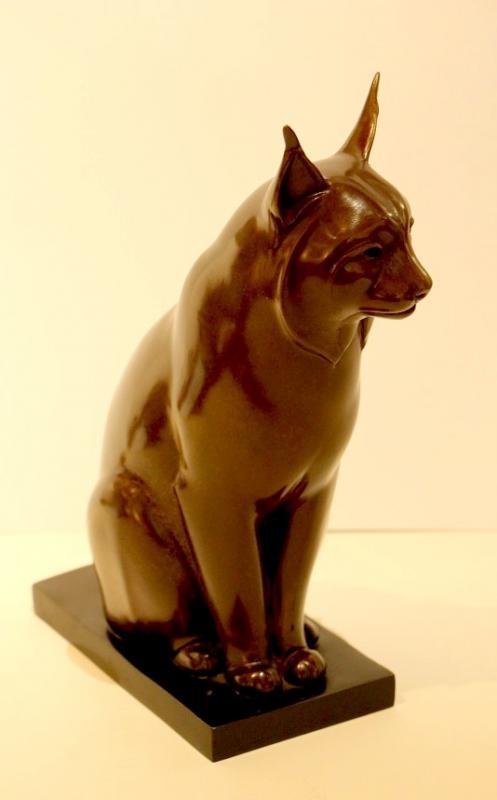 Original Bronze By Yvan Larsen-photo-2