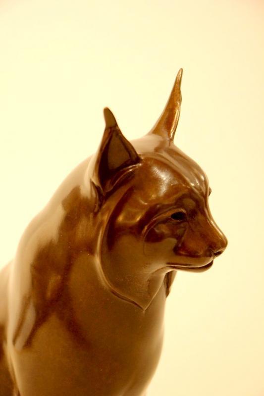 Original Bronze By Yvan Larsen-photo-3