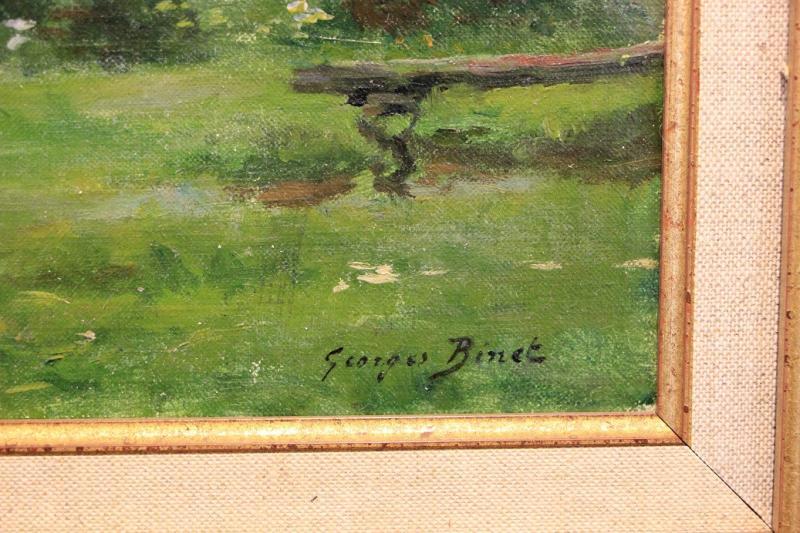 """George Binet """"view Of Honfleur 1907""""-photo-3"""