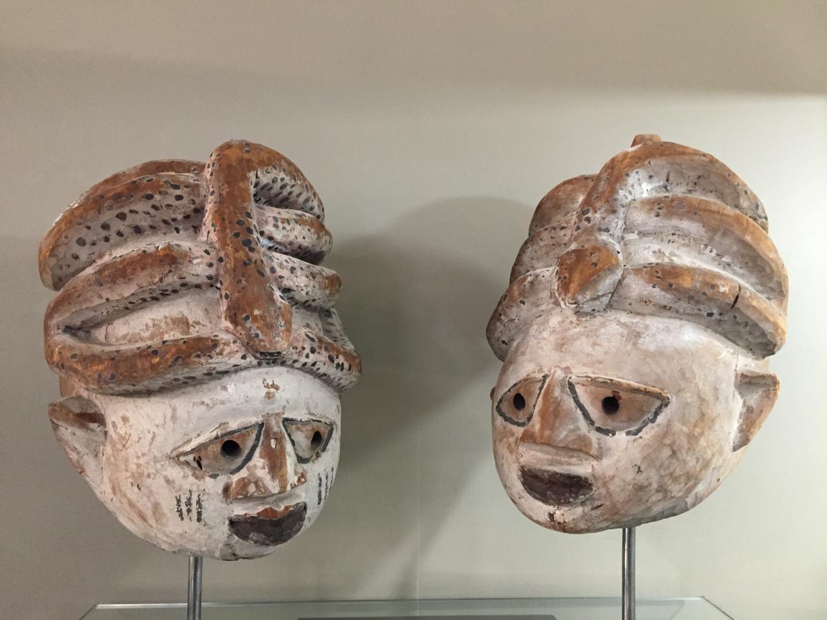 masque Yorouba Gélédé Nigéria