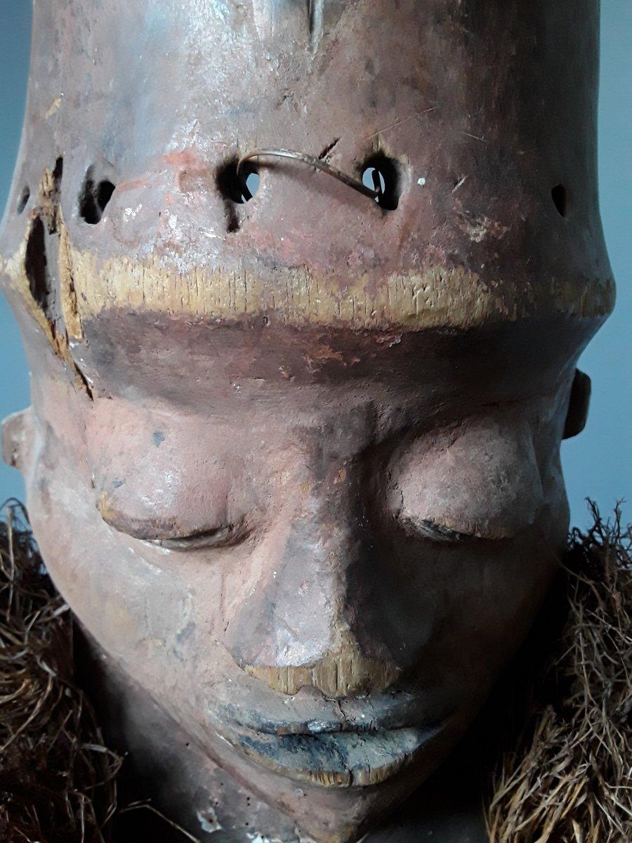 Très beau et ancien masque PENDE-photo-2