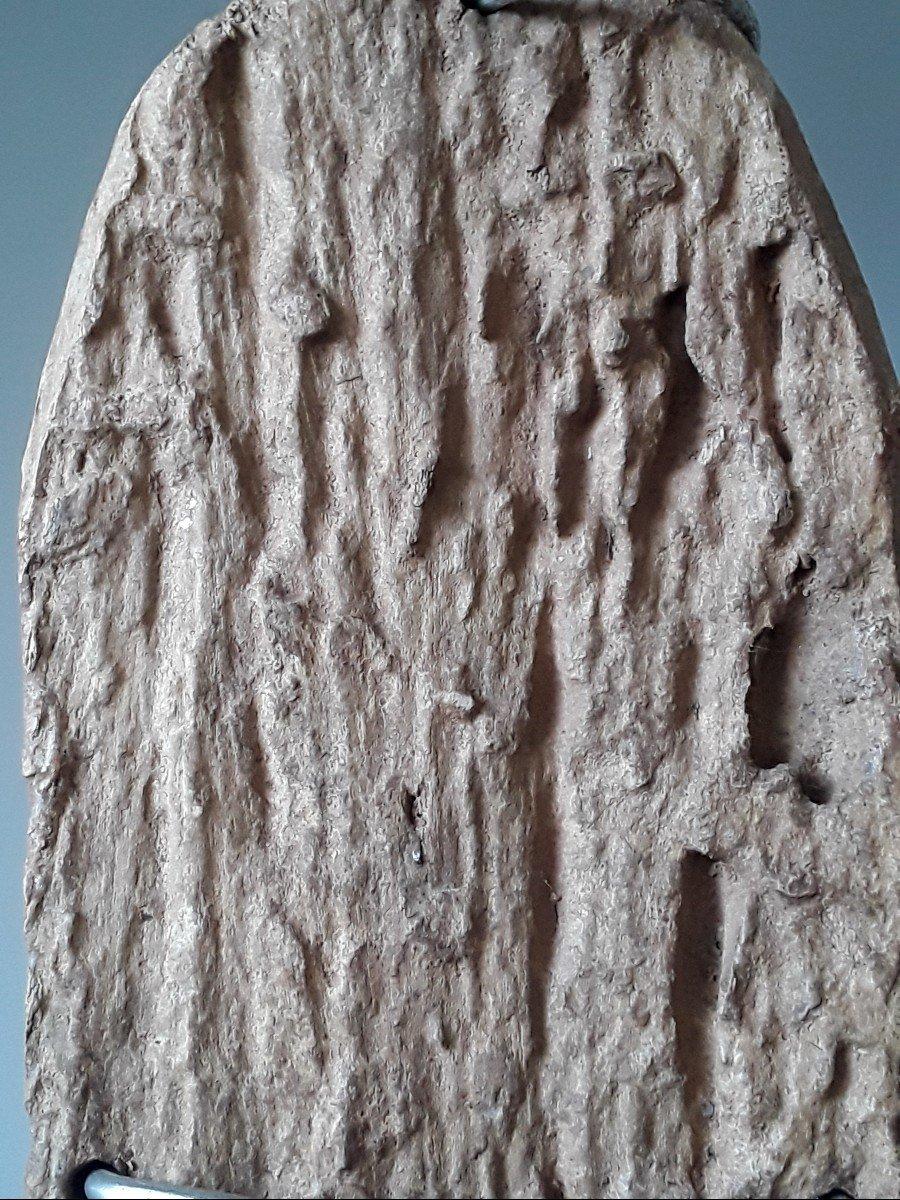 Etket Niger Divination Carved Board-photo-1