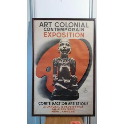 Affiche Exposition Coloniale