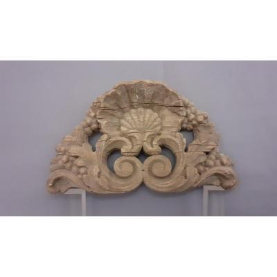 Shell Wood Louis XV Style