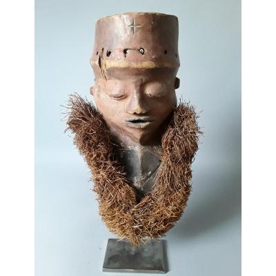 Très beau et ancien masque PENDE