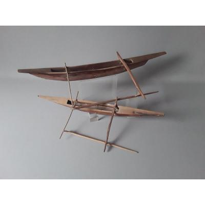 Maquettes De Pirogues Polynésie